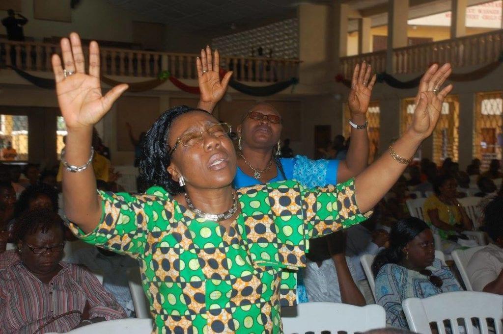 Worship in Liberia